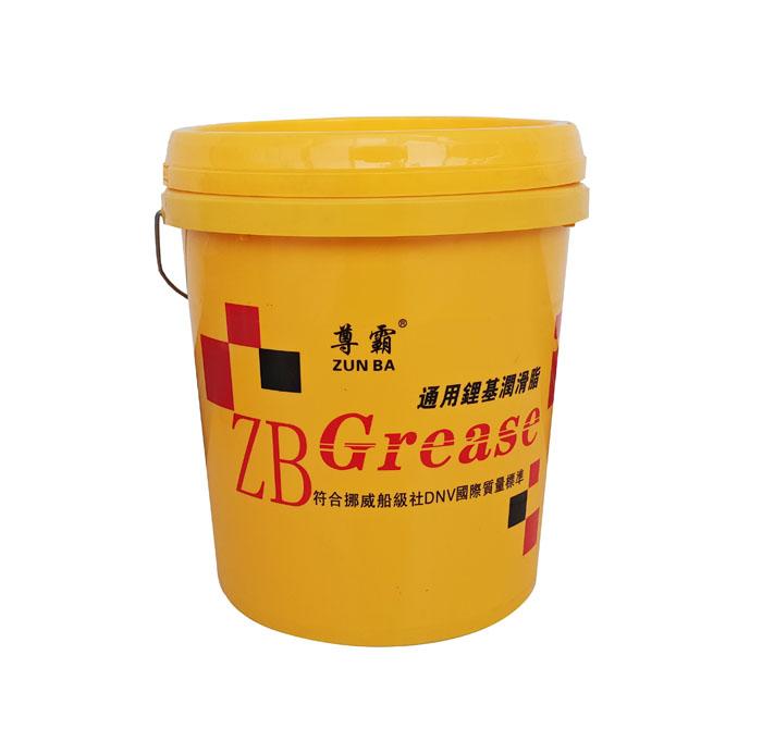通用锂基润滑脂黄桶