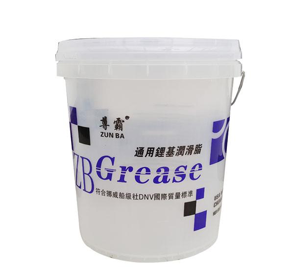 通用锂基润滑脂透明桶